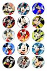 "Mickey Mouse Bottle Cap 1"" Circle Images Sheet #2 (digital file or pre cut)"