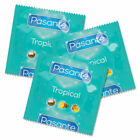 Pasante Tropical Flavored condoms Mango Pineapple Coconut x 1 3 20 10 30 50 100