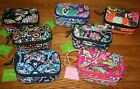 NWT Vera Bradley JEWELRY CASE organizer travel bag holder pouch 4 tote carry on