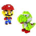 Mini DIY Puzzle Nanoblock Building Blocks Sets Mini Blocks Toys Mario & Yoshi