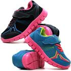 GIRLS RUNNING TRAINERS INFANTS NEW KIDS SHOCK ABSORBING SCHOOL SPORTS SHOES SIZE