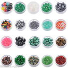 Wholesale! 5-50Pcs 4-12mm Gemstone Round Loose Beads Agate Jewelry Making