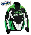 CASTLE X™ Men's Green Insulated LAUNCH G1 Winter Snowmobile Jacket 70-444_