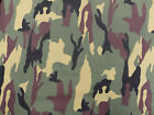 Camo Cotton Drill Fabric Army DPM Military Camouflage Material cloth. 148cm wide