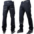 Peviani black jeans, mens g denim, star wash straight fit time is money hiphop