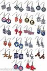 MLB Official Licensed Dangle Earrings - Assorted Teams