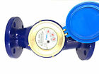 Flanged Water Meters For Irrigation & Water Supply Heavy Duty Cast Iron Body
