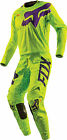 Fox Racing Mens Yellow 360 Cauz Dirt Bike Jersey & Pants Kit Combo MX ATV 2016