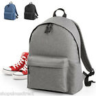 Two-tone Backpack Rucksack Bag Work College School Mens Ladies Shoulder Daysack
