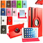 For NEW 2014 iPad Mini 3 Retina 2 1 Leather 360 Rotating Smart Stand Case