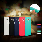 UltraThin Matte Soft Back Case Cover+9H tempered glass film F Samsung Galaxy J7
