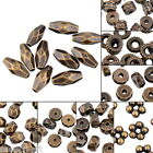 Various Types Acrylic Beads Bronze Brass Tone Plastic Jewelry Findings DIY