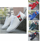MRNX New Fashion England Men's Leather Recreational Shoes Casual Sneakers PU