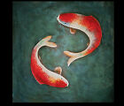 Modern Paintings Modern Art Paintings Koi Fish Painting Asian Wall Art Décor