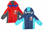 Boys Official Lightning McQueen 95 Disney Pixar Cars Hooded Coat 3 to 8 Years
