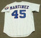 PEDRO MARTINEZ Montreal Expos 1997 Majestic Throwback Home Baseball Jersey