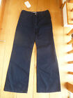 TOAST SMART NAVY BLUE CINCH BACK SLOUCHY FLARE FLARES JEANS UK 8 S C4VT2