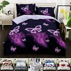 3D Effect 4Pcs Duvet Covers With Fitted sheet Bedding Set + 2 Pillow Cases