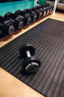 Heavy Duty Gym Weight Room Rubber Mats Exercise Fitness Leisure Flooring 12mm