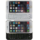FM12 Slim Thin Wireless Slide Out Bluetooth Keyboard Case Cover For iPhone 6 US