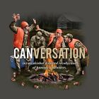 New BEER CAN CONVERSATION CANVERSATION DRINKING HUNTING T SHIRT