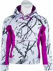 Women's Snow Camo & Pink/Purple / Black Waterproof & Windproof SOFT SHELL Hoody