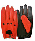 NEW REAL SHEEP NAPPA LEATHER DRIVING GLOVES MEN DRESS CLASSIC VINTAGE CHAUFFEUR