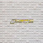 """Glass and Stone Mosaic Tile, """"Mini Teseo Collection"""" GM 2101 - Opal, 12""""X12"""""""