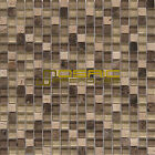 "Glass and Stone Mosaic Tile, ""Chocolate Collection"" GM 2201 -  Square, 5/8""X5/8"""