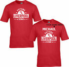 LIVERPOOL T SHIRT FUTURE STAR CHILDRENS KIDS PERSONALISED ages 3/4  to 12/13