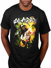 Official Slash Flames T-Shirt World On Fire Live In Manchester Apocalyptic Love