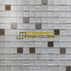 "Glass, Stone, and Metal Mosaic Tile, ""Mini Teseo Collection"" GM 8301 -  Diana"