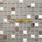 "Glass, Stone, and Metal Mosaic Tile, ""Mini Teseo Collection"" GM 8303 - Nana"