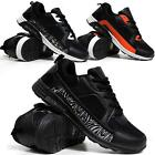 MENS RUNNING TRAINERS BOYS GYM WALKING SHOCK ABSORBING SPORTS FITNESS SHOES SIZE