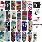 Magnetic Wallet Flip PU Leather+TPU Stand Card Case Cover For iPhone 6S 6S Plus