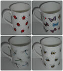 BN Fine Bone China Boxed Bee Mug, Ladybird Mug, Dragonfly Mug, Butterfly Mug