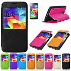 For Samsung Galaxy S5 i9600 Ultra Slim Flip Leather Wallet Stand Case Cover