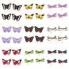 20pcs Gold Plated Enameled Butterfly Dragonfly Charms Alloy Pendants Findings C