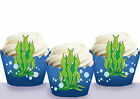 Under the Sea Clown Fish birthday Party Wraps Cupcake Cases Wrappers Cup Cake