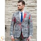 Mens Zombiac Zombie Halloween Opposuit Suit Adult Fancy Dress Costume