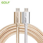2.1A Golf Metal Nylon Andriod Rapid Data Transfer & Charging Micro USB Cable