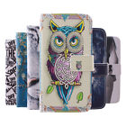 Magnetic Painted Stand Leather Flip Wallet Case Cover For Microsoft Nokia Lumia