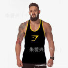 NEW GYM MEN MUSCLE SLEEVELESS SHIRT TANK tops BODYBUILDING SPORT FITNESS VEST