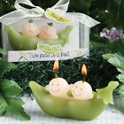 Two Baby Peas in a Pod Candle ~ Baby Shower Favors & Gifts