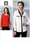 Vogue 1463 Anne Klein American Designer Tunic Top Blouse Shirt Pattern V1463
