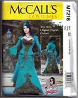 McCalls 7218 Yaya Han Peacock Costume Corset Dress Cosplay Sewing Pattern M7218