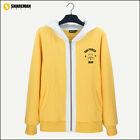 One Punch Man Saitama Cosplay Costume Yellow Hoodie Sweater Free Shipping