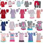 Girl 4-14 and doll matching nightgown & fit Dollie Me & American Doll