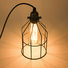Retro PENDANT LIGHTS Industrial Wire Cage Cafe Loft Bar Home Warehouse Lighting