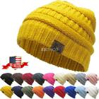 Внешний вид - Clearance Sale ! New Knit Slouchy Beanie Oversize Thick Cap Hat Unisex Womens